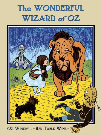 Wonderful Wizard of Oz plaque