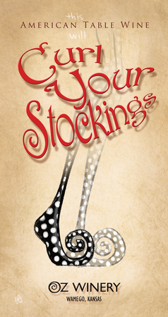 Curl Your Stockings plaque