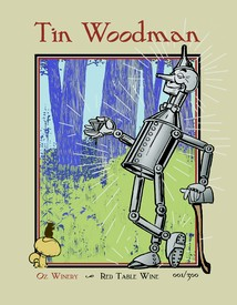 Tin Woodman plaque
