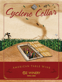 Cyclone Cellar plaque