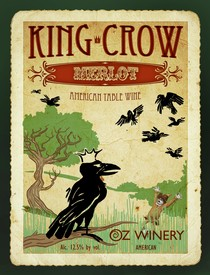 King Crow plaque
